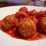 イタリアの肉団子、ポルペッテのトマトソース煮込み