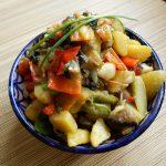 初夏の味わい 夏野菜の地中海煮込み