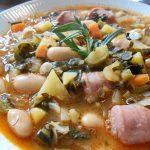 具沢山 カーボロネロとサルシッチャ、豆のトスカーナスープ