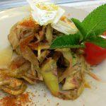 サルデーニャ島のレシピ アーティチョークのサラダ