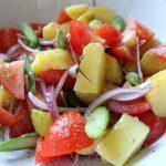 旬の野菜たっぷり カラフルな春サラダ