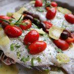 地中海風 鯛のオーブン焼き