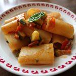 パッケリと夏野菜のラグー