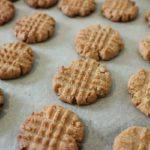 低糖質 ピーナッツバタークッキー