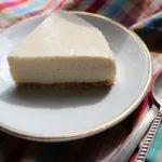 ピーナッツバターレアチーズケーキ