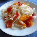 フェンネルとオレンジのイタリアンサラダ  オレンジヴィネグレットソース
