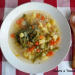 菊芋のクリームスープ