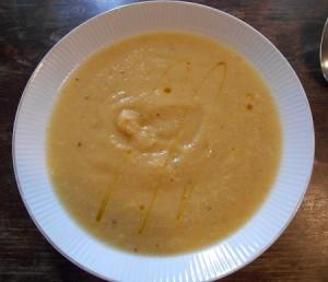 soup topinambur