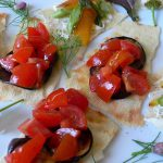 サルデーニャ島のパン パーネ・カラザウのフィンガーフード