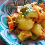 スパイスたっぷり 夏野菜のオリエンタル煮