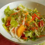 オレンジとフェンネルのリフレッシュサラダ
