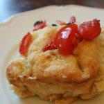 ブラータと茄子の前菜